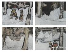 A10. Paysage zen sous la neige