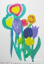 A4. Bouquet de fleurs